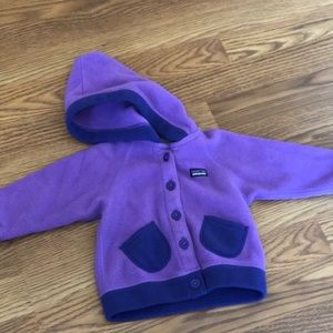Patagonia Girls Fleece- 6-12 Months